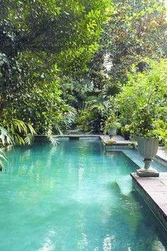 Pool Natural Swimming Pools, Natural Pools, My Pool, Beach Pool, Pool Water Features, Beautiful Pools, Dream Pools, Swimming Pool Designs, Garden Pool