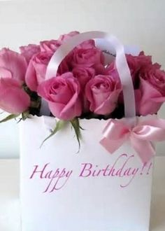 Good morning Have a Blessed Sunday Happy Birthday Flower, Happy Birthday Sister, Birthday Greetings, Birthday Wishes, Birthday Cards, Beautiful Rose Flowers, Flowers For You, Bday Flowers, Birthday Card With Name