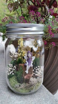 Check out this item in my Etsy shop https://www.etsy.com/listing/251910864/miniature-fairy-garden-fairies-garden