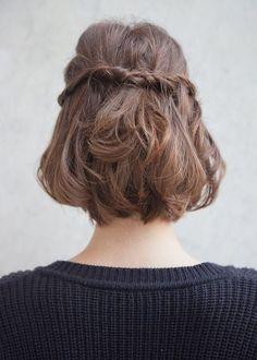 hairstyle, short hair, fashion, trendy, ideas, cool, summer, cute