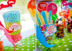giant candy table centre - Google Search