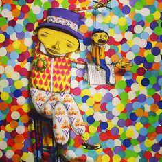 Arte. #osgemeos http://www.widewalls.ch/artist/os-gemeos/