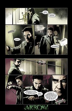 Capítulo #13 cómic oficial Arrow