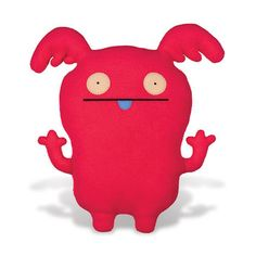 My new pillow -- so comfy. [Uppy the Ugly Doll]