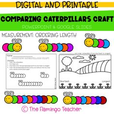 This FREE spring math craft would look great hanging up in your classroom or hallway!