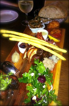 The incredible tasting plate