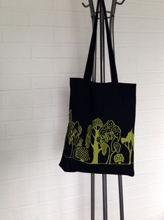 Puisto (Park)-totebag Tote Bag, Park, Classic, Handmade, House, Collection, Derby, Hand Made, Carry Bag