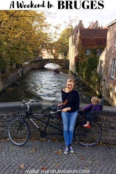 We loved Bruges, Belgium for a family weekend break. We went hot air ballooning, biking, and general site seeing. #travelmadmum #bruges #belgium #familytravel #weekendbreak #europe #seetheworld #kids