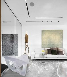 Modern Haven for Art Collectors: Central London Penthouse by Fernanda Marques - http://freshome.com/modern-haven-for-art-collectors-central-london-penthouse-by-fernanda-marques/