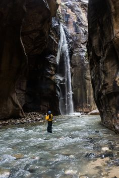 Hiking The Narrows a