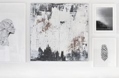 """New paintings are now available at my online gallery by Nina Holst  Meet """"Gold dust"""", 1200x1000mm & """"Beneath the surface"""", 1000×1000 mm Send me an email to nina(at)stylizimo(dot)com if you are intere"""