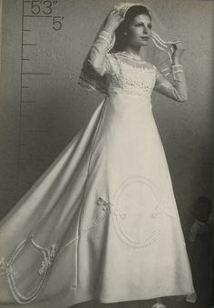 Alfred Angelo vintage designer fashion bride ad from 1975