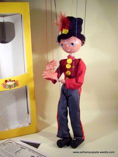 SHOP Yellow Boxed - The Vintage Pelham Puppet Shop  £24