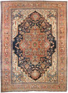Antique Serapi , Persia