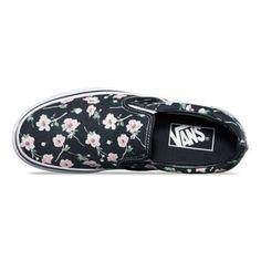 d6033e3b70284b Vintage Floral Slip-On Floral Nikes