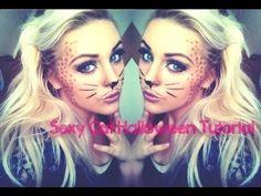 beginners halloween sexy cute cat makeup tutorial howto - Halloween Makeup For Beginners