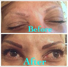 Pretty brows make the face. Permanent makeup keeps them looking great!!!