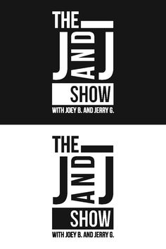 Logo for the KUGR radio show, the J AND J SHOW. Designed by Johanna Walther