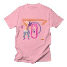 Ivo Graffiti  Men's T-shirt by Ivo Caralhactus's Shop  #Ivo #Caralhactus #ivocaralhactus #ginger #guy #boy #hunk #beard #bearded #sex #cute #popart #pop #art