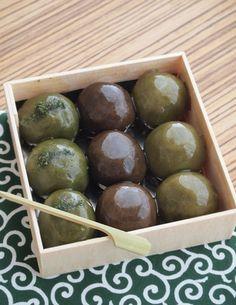 Matcha Balls | Kyoto, Japan 仙太郎 あんこ玉