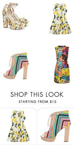 """""""Untitled #38"""" by anssy ❤ liked on Polyvore featuring Jerome C. Rousseau and Diane Von Furstenberg"""