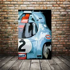 Excited to share this item from my #etsy shop: Gulf Porsche 917, 24 hour Le Mans, Porsche print, Porsche artwork, Car enthusiast gifts, race car art, gift for husband, father gift ideas 24 Hours Le Mans, Bus Art, Garage Art, Garage Ideas, Gifts For Husband, Gifts For Father, Automotive Art, Modern Art Prints, Canvas Art Prints