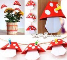 Leuke pandenstoeltjes van papier ♥♥♥