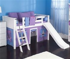 maxtrix kids furniture girls bedroom furniture no slide different colors