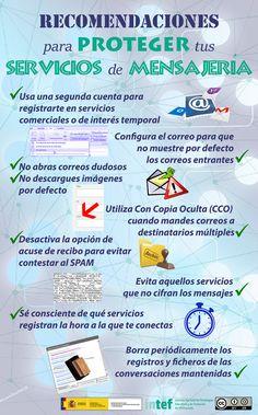 Recomendaciones para proteger tus servicios de mensajería