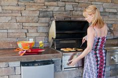 #Outdoor #Kitchen Layouts, Texas Pools and Patios