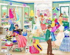 Dressmakers Shop (c) Tuula Burger