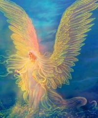 Beautiful angels all around us ~Protection from on High.Thank you my Heavenly Father.