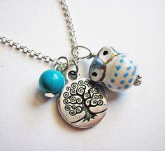 Owl Necklace, Tree of life necklace, Owl Pendant, Owl Jewelry ...1305 x 1200297.6KBwww.etsy.com