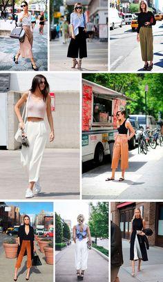 Veja dicas de como usar calça pantacourt no blog da mariah.