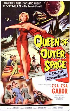 Queen of Outer Space starring Zsa Zsa Gabor no less!