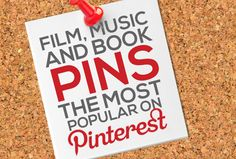 Find your #fave #book, #films, and #music on Pinterest!