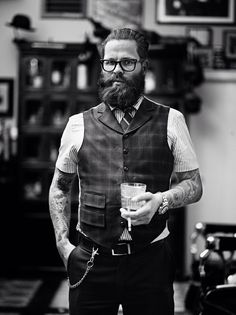 Leen; one of the founders of Schorem Barbershop - Rotterdam