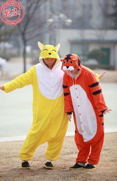 Korea Siberian Tiger Adult Costume Kigurumi Party Pajamas Cosplay Onesie Pyjamas! SAZAC Authentic KIgurumi! Very Nice Costume! XD