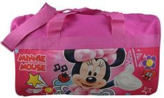 Disney Minnie Mouse 105 Duffle Bag Carryon Bag w Bonus Coloring Book >>> Want additional info? Click on the image.