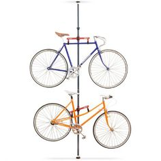 Relaxdays Telescoping Ceiling-Mount Bike Stand Steel Bicycle Holder For 2 Bicycles Ceiling Holder for Garage, Steel and Plastic, Pull-Out Height-Adjustable Rod, 335 x x Up To 40 kg Champions Of The World, Ceiling, Bike, Storage, Design, Amazon Fr, Earth, Shirt, Fun