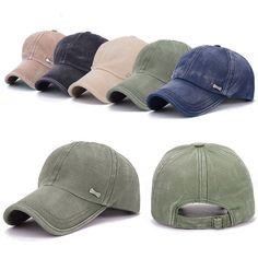 Unisex Men Women Adjustable Baseball Cap Sport Outdoor Golf Snapback Hip-hop Hat #UnbrandedGeneric #BaseballCap