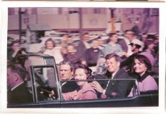On this day in history-On November.21, 1963 John F. Kennedy is assassinated by Lee Harvey Oswald in Dallas