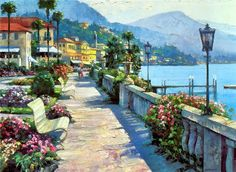 Artist Howard Behrens / sunny summer .. Comments: LiveInternet - Russian Service Online Diaries