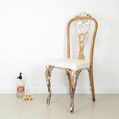 Antic&Chic. Decoración Vintage y Eco Chic: [DIY] Volver al origen: transformar una silla quitando pintura