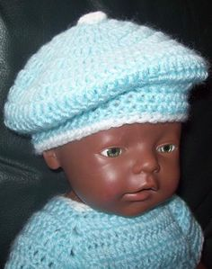 Baby Born, Winter Hats, Dolls, Crochet, The Creation, Bebe, Tricot, Baby Dolls, Baby Newborn