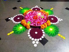 happy dipawali - dipawali special rangoli - K222