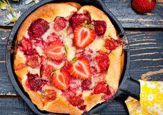 Clafoutis cu căpșuni - Retete culinare - Romanesti si din Bucataria internationala