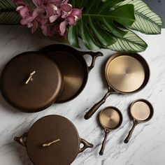 Cast Iron Cookware Full Set — Nest Homeware