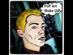 Bildergebnis für make up pop art man