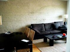 Beton Wand Wohnzimmer